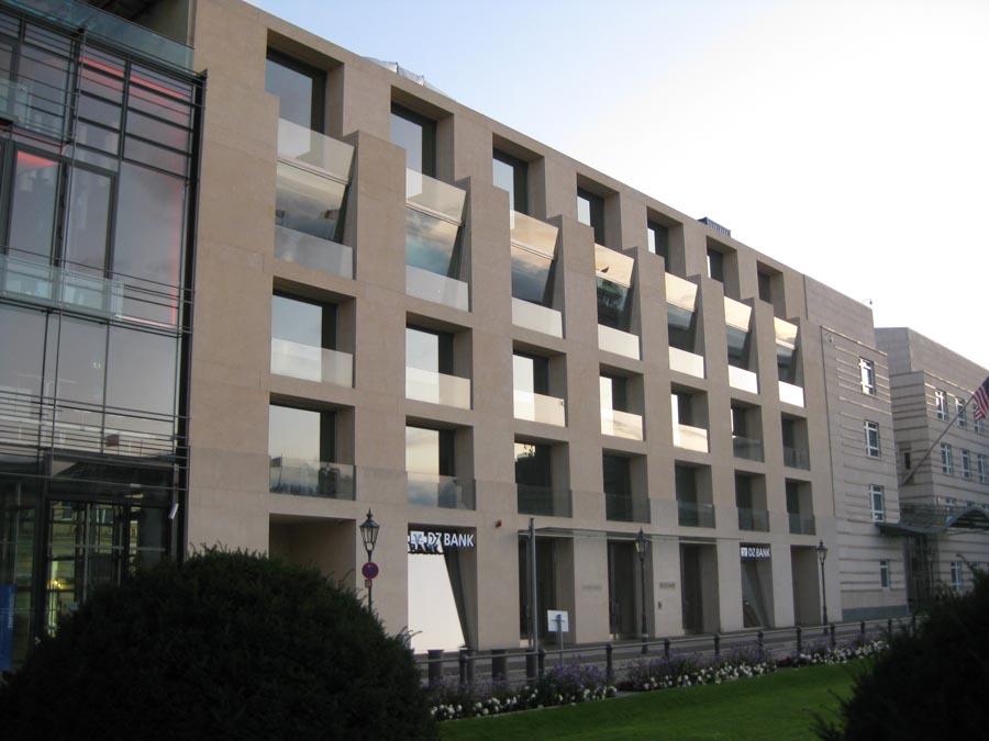 DZ Bank Berlin facade